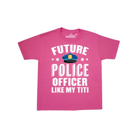 Future Police Officer Like My Titi Youth T-Shirt