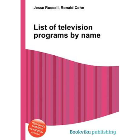 List of Television Programs by Name (Halloween Program Names)