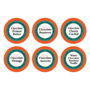 Smart Sips Coffee Chocolate Obsession Flavored Coffee Pods Variety Sampler Pack, 72 Count, Compatible With All Keurig Kcup Brewers