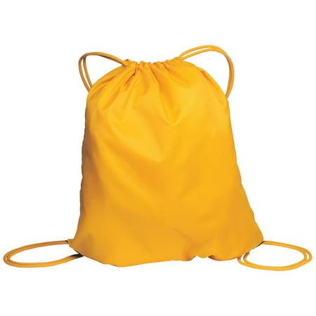 Golf Backpack - Mafoose Cinch Pack Drawstring Backpack Athletic Gold