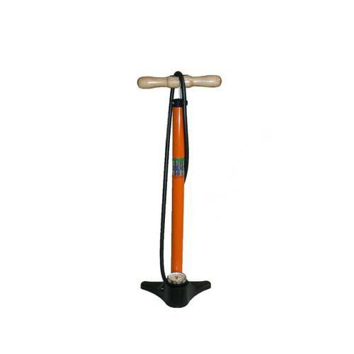 Silca Super Pista Bicycle Floor Pump (Orange)