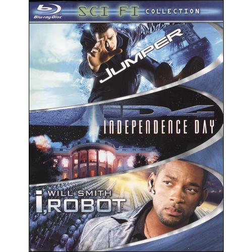 Sci-Fi 3-Pack: Jumper / Independence Day / I, Robot (Blu-ray) (Widescreen)
