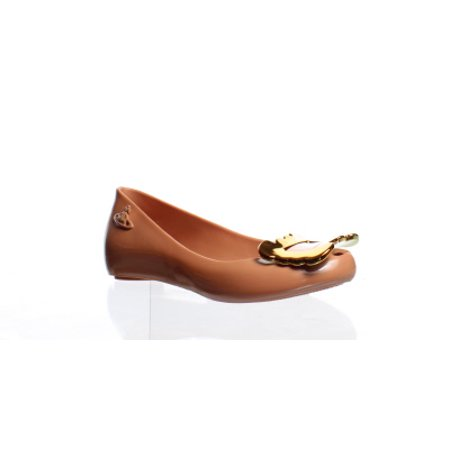 Vivienne Westwood Womens Anglomania Orange Ballet Flats Size (Vivienne Westwood Pearl)