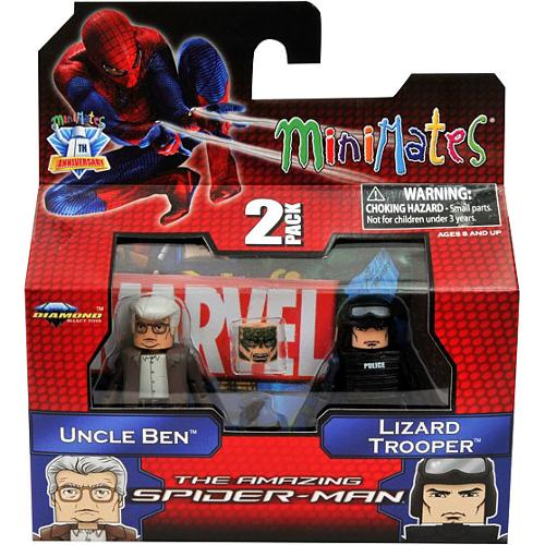 Marvel Minimates Amazing Spiderman 46 Uncle Ben & Lizard Trooper