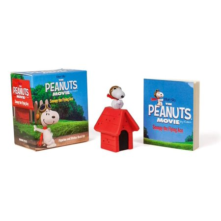 The Peanuts Movie: Snoopy the Flying Ace : Figurine and Sticker Book Kit - Snoopy Peanuts