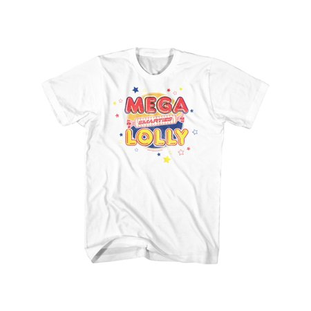 Smarties Wrapped Sugar Candy Mega Lolly Adult T-Shirt Tee