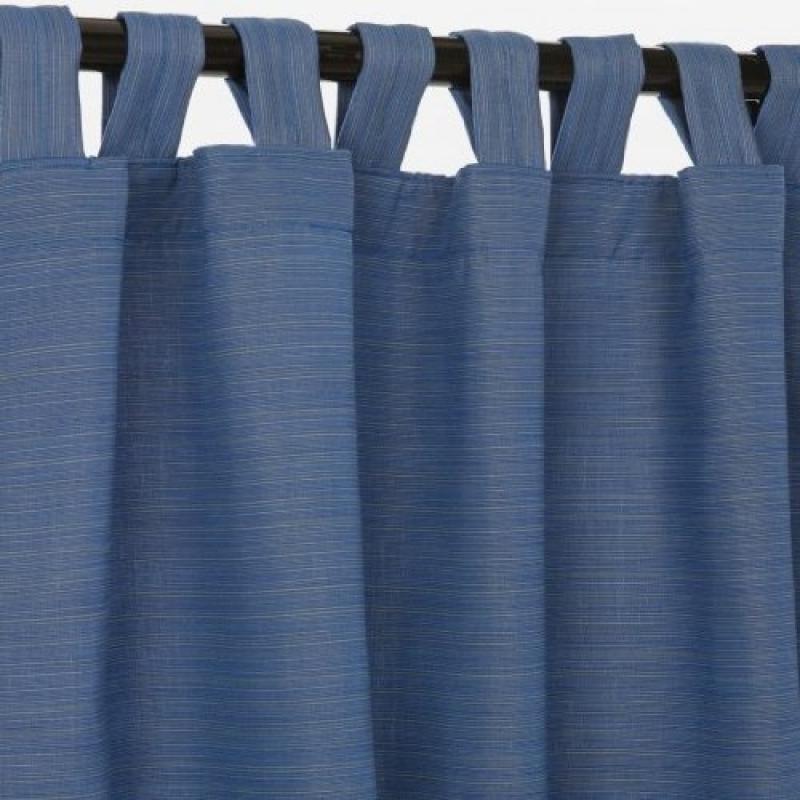 Sunbrella Outdoor Curtain with Tab Top