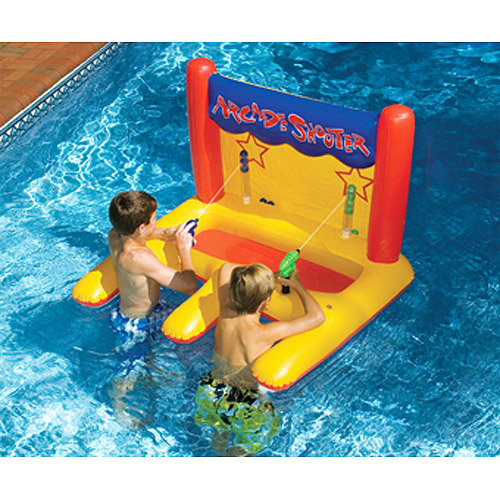 Arcade Shooter Inflatable Pool Toy