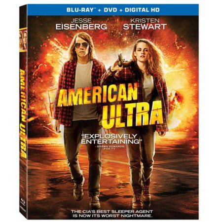 American Ultra  Blu Ray   Dvd   Digital Hd   With Instawatch