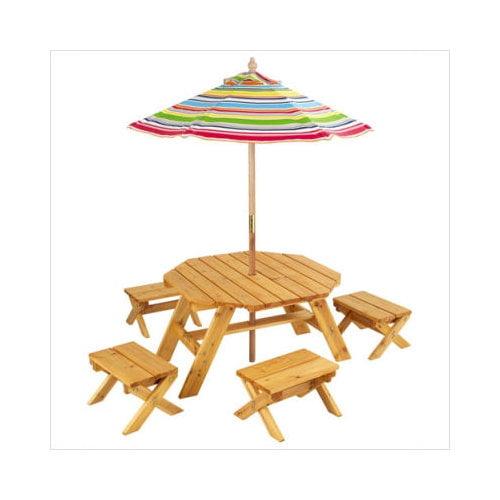 KidKraft Kids' 5 Piece Table and Stool Set