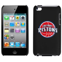 Detroit Pistons Primary Logo 4th Generation iPod Touch Snap-On Case - Black