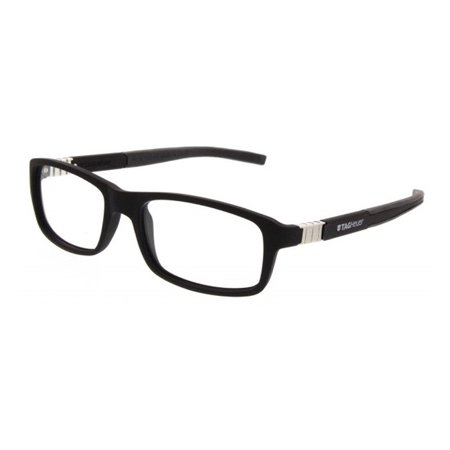Tag Heuer Legend 9312 Eyeglasses 001 Black/Black/Black 56MM TAG Heuer Legend Glasses for men is synonymous with high quality fashion for many years. Founded by Edouard Heuer and merged with the TAG (Techniques d'Avant Garde) group, the company is now owned by the luxury goods conglomerate LVMH (Louis Vuitton Moet Hennessy). The unique, distinct design of TAG Heuer Legend Glasses For Men offers a sleek, sophisticated appearance created with comfort and functionality in mind. TAG Heuer has developed a range of eyeglasses that fit modern lifestyles, equally suited to sporting and outdoor activities as they are to everyday wear. Like their watch-making counterparts, all of TAG Heuer Legend Glasses design are sports-inspired. Every optical frame should be created based on functionality and comfort. From looking at the models, you can instantly see that their design is unique, distinct, and completely different from your traditional optical frames. TAG Heuer eyewear derives inspiration from innovative thinking and expert craftsmanship to deliver an unbeatable luxury line of glasses. TAG Heuer glasses combine integrated design, performance-enhancing materials, and superior engineering to provide unparalleled fashion and function.