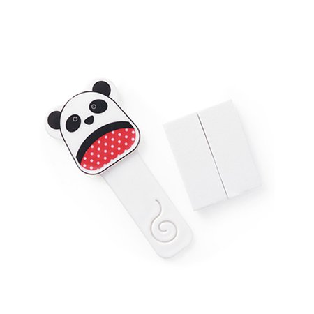 Panda Shape (Cartoon Toilet Seat Handle Cute Animal Panda Shape Toilet Seat Cover Lifter Avoid Touching Self Adhesive Lifting Tool)