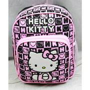 Mini Backpack - Hello Kitty - Black Box Checker New School Bag 82360