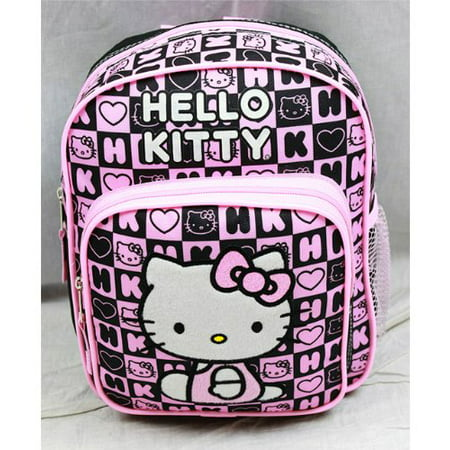 Mini Backpack - - Black Box Checker New School Bag 82360