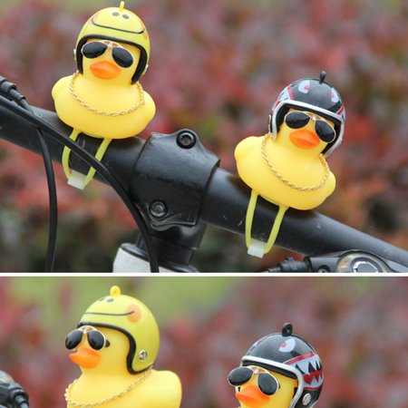 Broken Duck Sunglasses Duck Bicycle Duck Bell Social Turbo Duck Horn Car Light - image 9 of 10