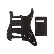 Suzicca SSS ST Electric Guitar Pickguard Scratch Plate with Back Cover Guitar Accessories Parts