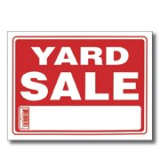 Bazic Products S-16-24 BAZIC 9 in. X 12 in. Yard Sale Sign Case of 24