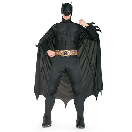 Batman Deluxe Adult Halloween Costume (Batman Onesies For Adults)