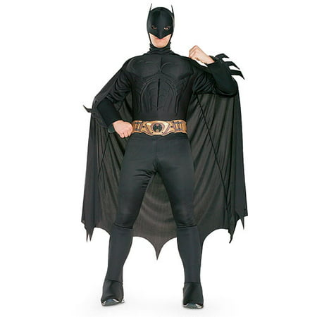 Batman Deluxe Adult Halloween Costume - Batman & Robin Costumes For Adults