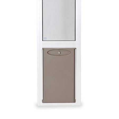PetSafe Freedom™ Aluminum Patio Panel Sliding Glass Dog and Cat Door, Adjustable 91 7/16