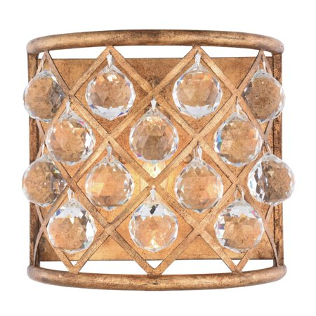 11 Light Crystal - Elegant Lighting 1214W11 Madison 1 Light 11