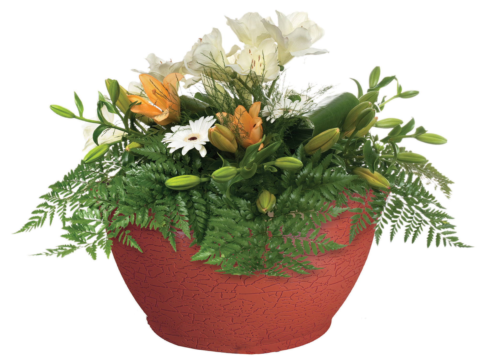 "Bloomers 14"" Porch Planter"
