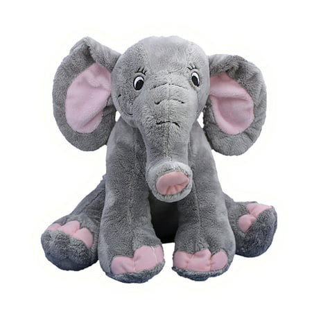 Record Your Own Plush 8 inch Elephant - Ready 2 Love in a Few Easy Steps