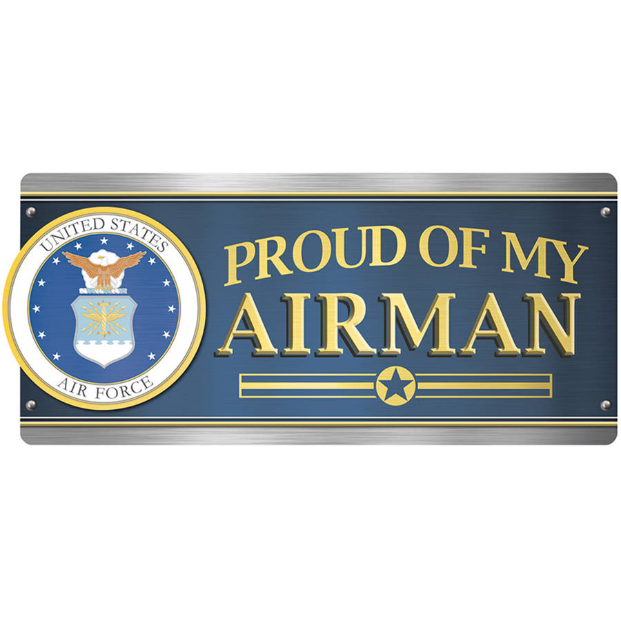 U.S. Air Force Car Magnet, Proud of My Airman
