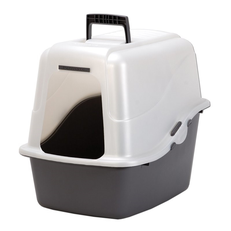 Image Covered Cat Litter Intended Petmate Large Covered Cat Litter Box Set With Microban Linentan