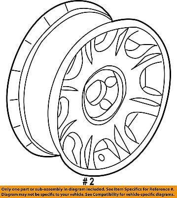 Chrysler Oem Wheel Alloy Aluminum 1dp88sz0ab