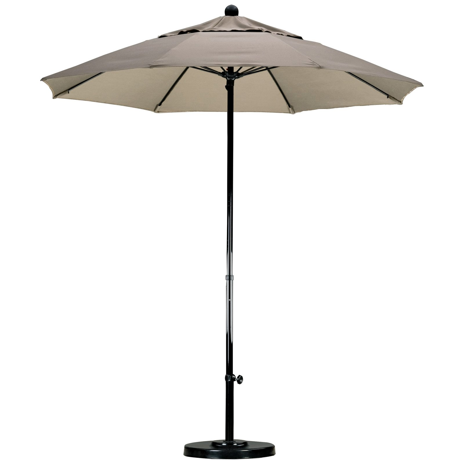 California Umbrella 7.5 ft. Complete Fiberglass Pacifica Patio Umbrella