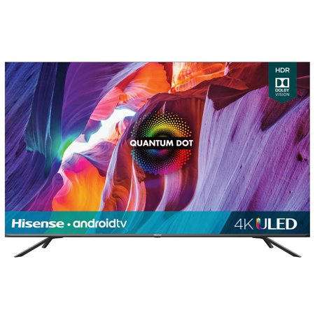"Hisense 65"" Class Quantum 4K ULED (2160P) HDR10 Android Smart LED TV (65H8G)"