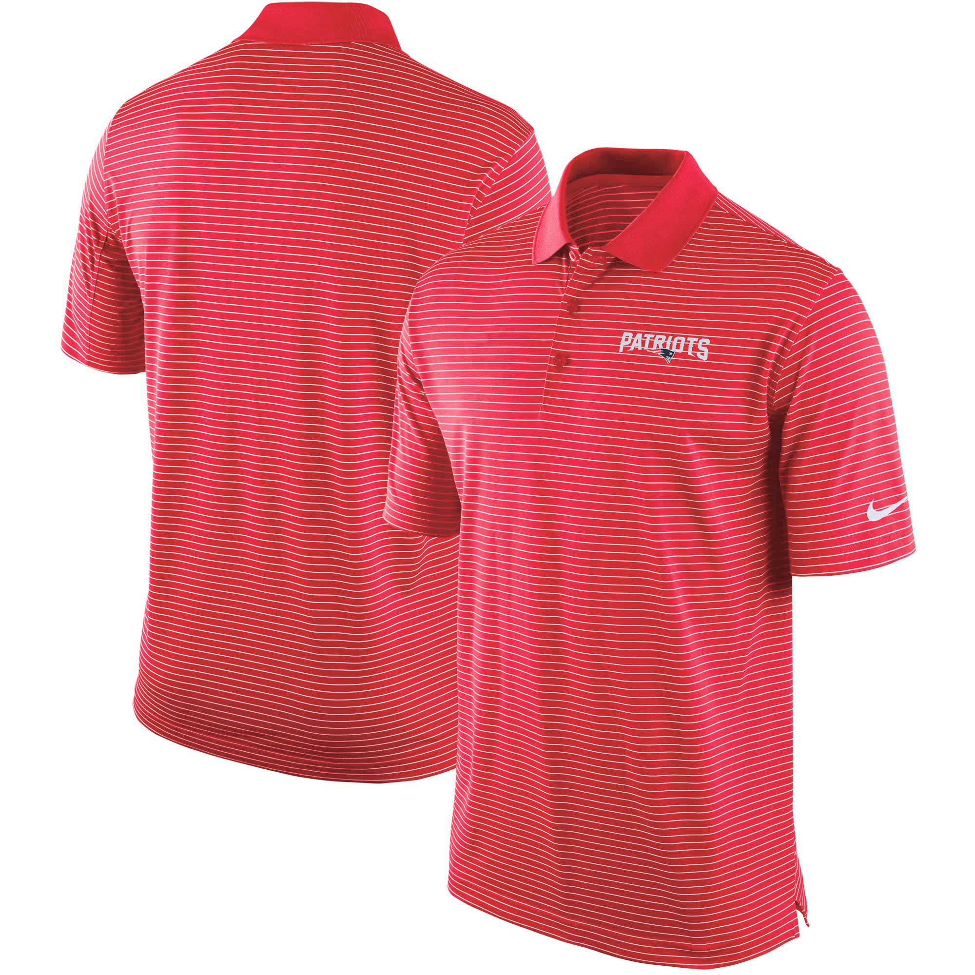 New England Patriots Nike Team Stadium Performance Polo - Red