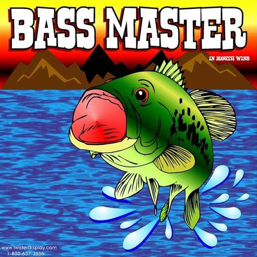 Bass Master Interactive Carnival Frame Game
