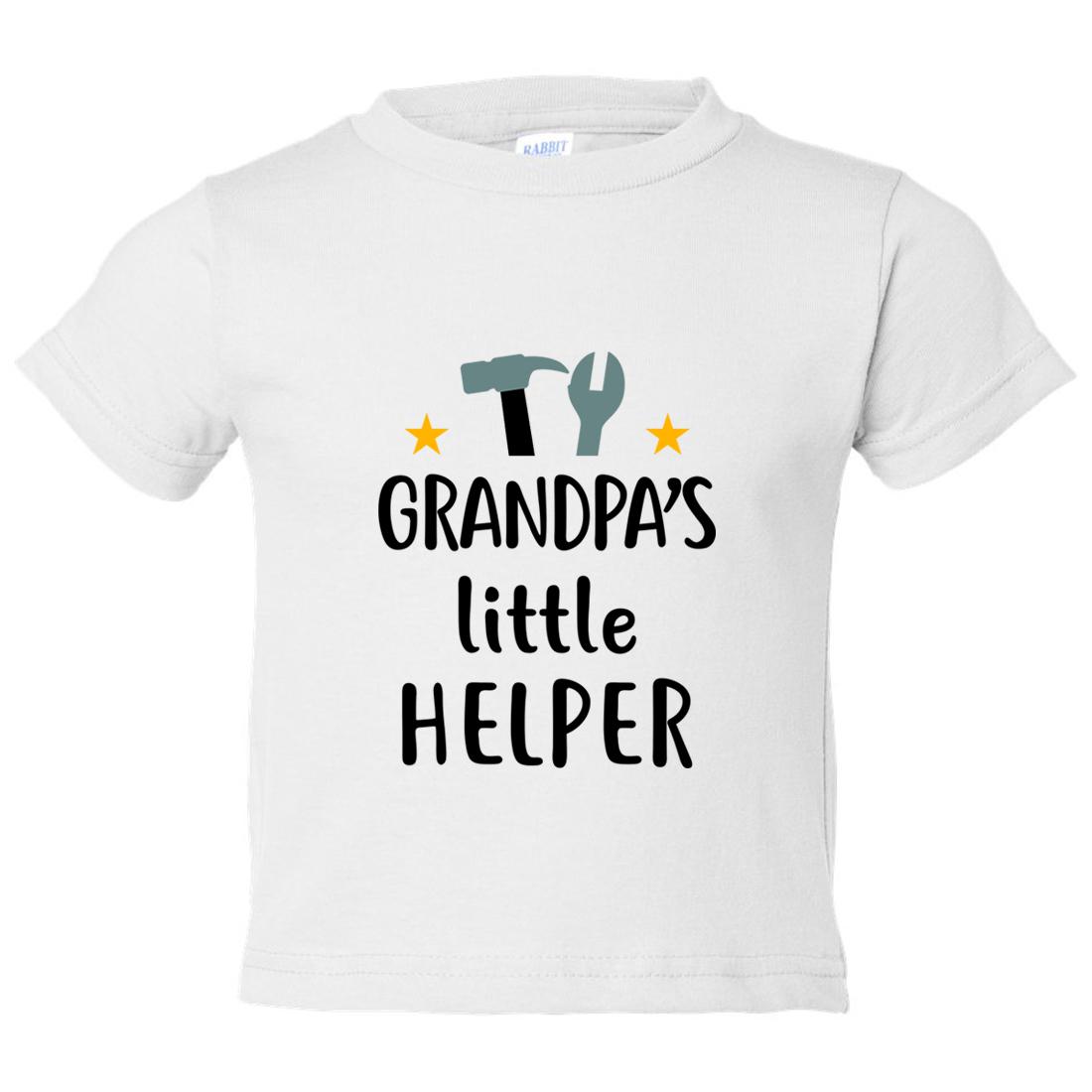 CafePress Grandpas Little Helper Baby Football Bodysuit 324158676