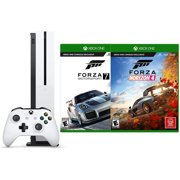 Xbox One S 1TB Two Forza Racing Bundle: Forza Horizon 4, Forza Motorsport 7 and Xbox One S 1TB Console with 4K Ultra HD Blu-ray - White