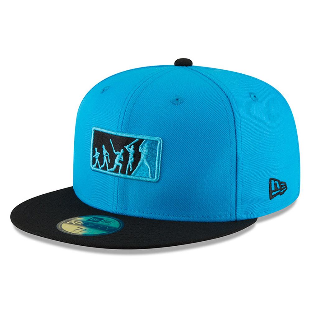 Miami Marlins New Era 2018 Players' Weekend Team Umpire 59FIFTY Fitted Hat - Blue/Black