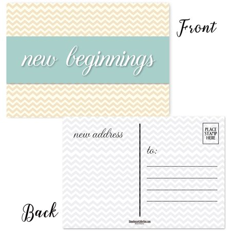Change of Address Postcards - New Address Announcement Cards  - 50 Postcards ()