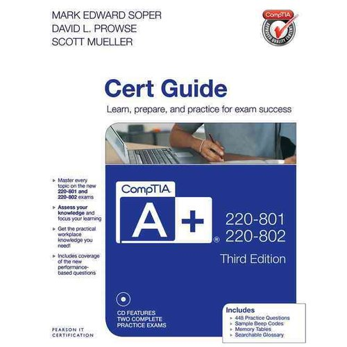 CompTIA A  220-801 and 220-802 Authorized Cert Guide