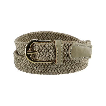 Women's Elastic Braided Stretch Belt