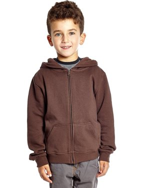 Leveret Boys Girls Cotton Hoodie (14 Years, Brown)