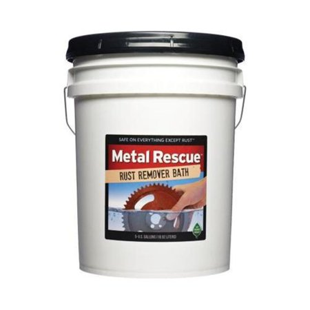 Workshop Hero WH570055 Metal Rescue Rust Remover Bath - 5 gal.