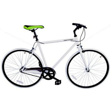 Royal London Fixie Fixed Gear Single Speed Bike - White/Black
