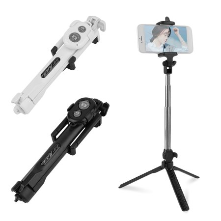 extendable foldable portable selfie stick tripod bluetooth remote controller shutter universal. Black Bedroom Furniture Sets. Home Design Ideas