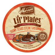 Merrick Lil' Plates Grain-Free Teeny Texas Steak Tips Dinner Small Breed Wet Dog Food, 3.5 oz, Case of 12