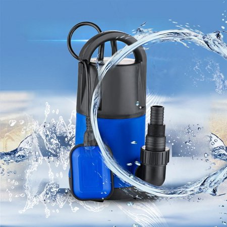 - 1100W 3400GPH Submersible Dirty Clean Water Pump Swimming Pool Pond Heavy Duty Water Transfer
