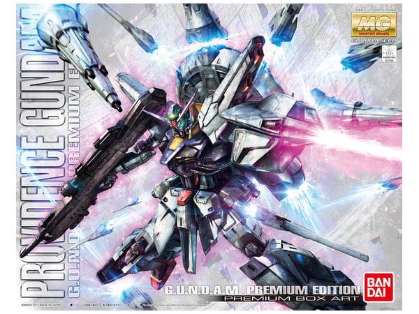 Bandai Hobby Gundam SEED Providence Gundam Limited Edition MG 1 100 Model Kit by Bandai Hobby