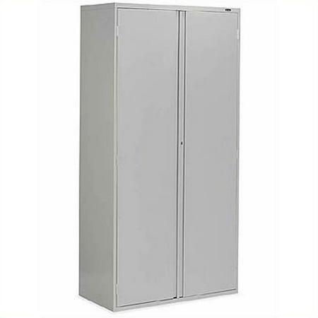 Global Office 9300 Series 2 Door Metal Storage Cabinet-Light Grey