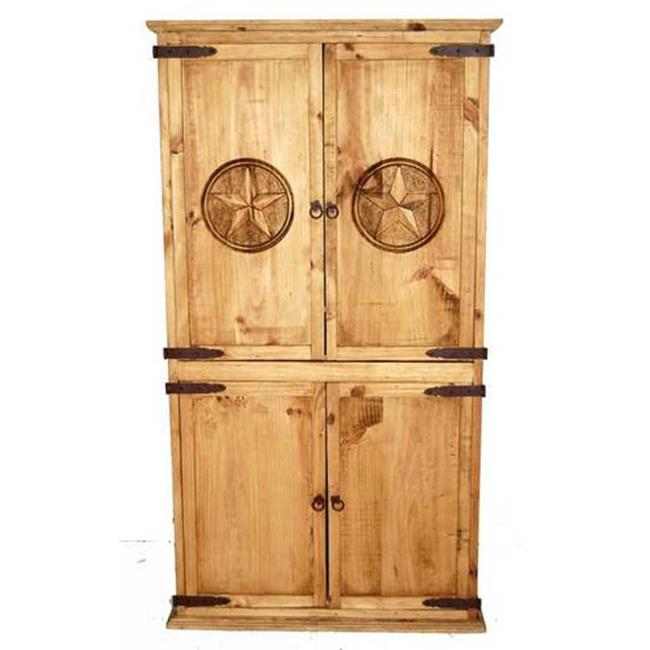 Million Dollar Rustic 01-1-10-20-TX Promo Armoire Tx